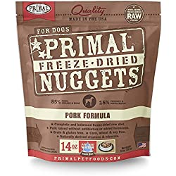 Primal Pet Foods Freeze-Dried Canine Pork Formula, 14 oz