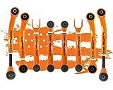 (US) Jeep Wrangler TJ - LJ 1997 - 2006 Complete Control Arm Set Tier One, Orange