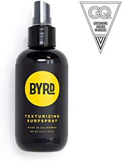product image for BYRD Texturizing Surf Spray - Volumizing Beachy Spray With Sea Salt and Coconut Water for Texture, Vitamin B5, UV Protection, Mineral Oil Free, Paraben Free, Phthalate Free, Sulfate Fre