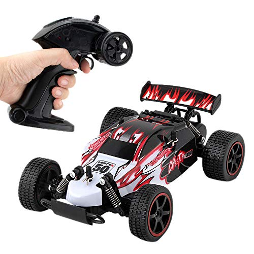 Price comparison product image Onefa High Speed Climbing Remote Control Electric Drift Car RC Off Road Truck 2.4G (One Size,  Red)