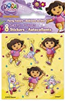 Dora the Explorer Sticker Sheets, 8ct