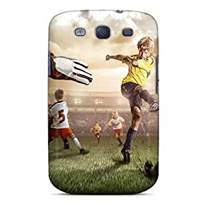 Premium CNq7335FmaT Case With Scratch-resistant/ Playing Football Case Cover For Galaxy S3