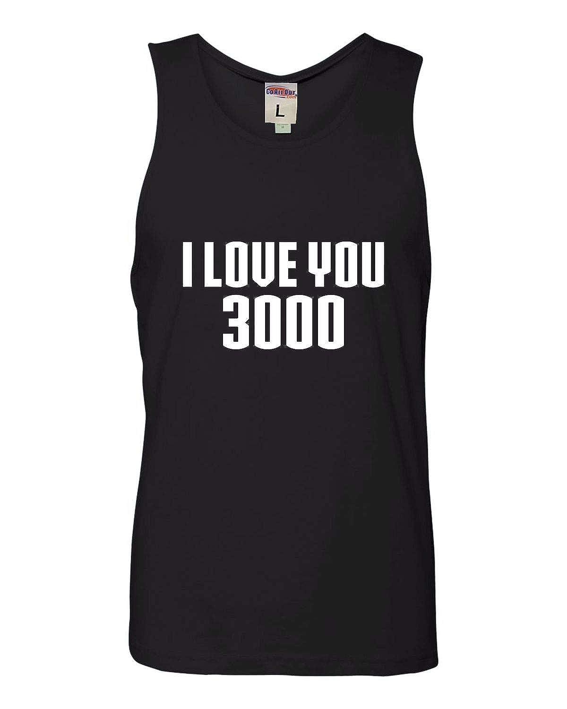 Adult I Love You 3000 Sleeveless Shirts