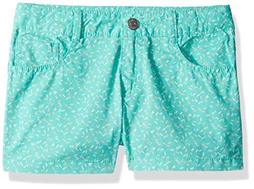 Gymboree Little Girls' 5 Pocket Woven Shortie, Spearmint Sprinkles, 4 by Gymboree