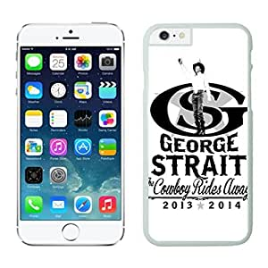 NEW DIY Unique Designed Case For iphone 6 plus George Strait (3) iphone 6 plus White 5.5 TPU inch Phone Case 166