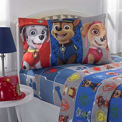 Franco Manufacturing Paw Patrol Gangs All Here Kids Bedding Sheet Set #877287925