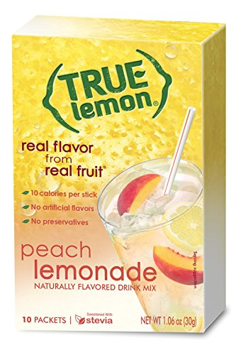 True Lemon Peach Lemonade 10-count (10 Lemonade)