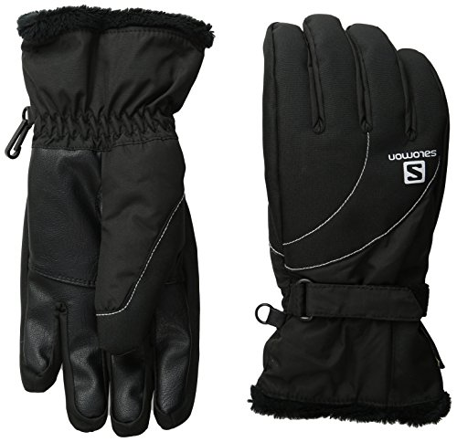 Salomon Women's Force GTX Gloves, Black, Small