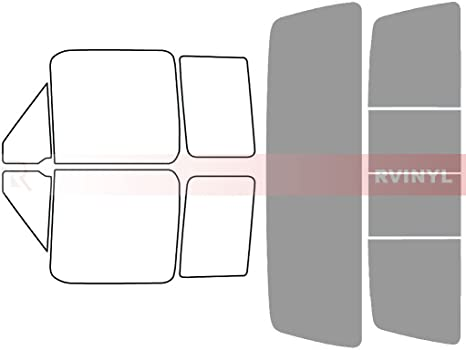 Rtint Window Tint Kit for Ford F-150 2004-2008 4 Door 20/% - Windshield Strip