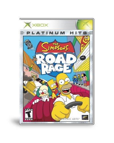 Simpsons Road Rage Platinum Hits - Xbox