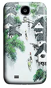Samsung S4 Case Chinese Painting 127 3D Custom Samsung S4 Case Cover WANGJING JINDA