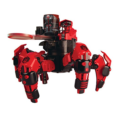 Combat Creatures Attacknid MK1 Battling Spider Toy Robot with Remote Control, Ultra Controllable Disc-Firing Weapon System, 6-Legged Robotics with Advanced All-Terrain Handling by Combat Creatures (Image #1)