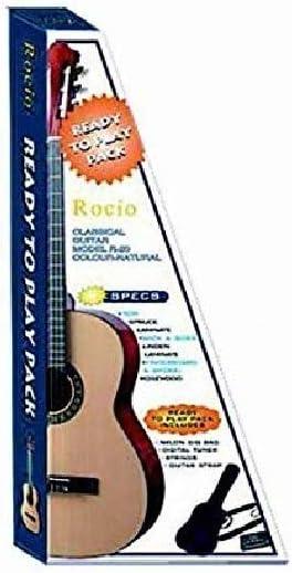 Pack guitarra clásica rocio 20: Amazon.es: Instrumentos musicales