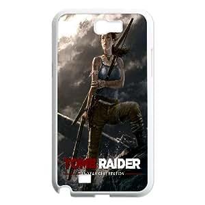 Generic Case Tomb Raider Lara Croft For Samsung Galaxy Note 2 N7100 Q2A7297833