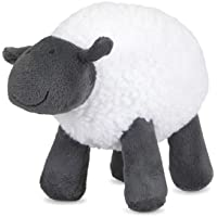 Petface Sheep Plush Dog Toy, Grey/white
