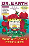 Dr. Earth 709 Organic 3 Rose & Flower Fertilizer, 12-Pound