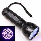 xdr sensors - Ultra Violet Blacklight Flashlight AA 51 UV LED Scorpion Detector Hunter