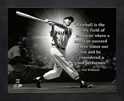 Ted Williams Boston Red Sox ProQuotes Photo (Size: 9