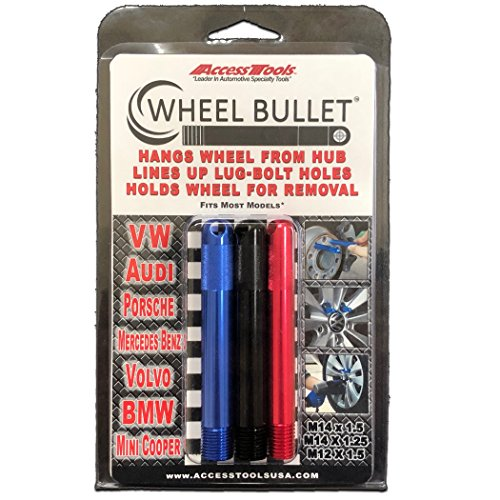 Mercedes /& VW Wheel Hanger Aluminum M12x1.5 Guide Tool Forged Aluminum 7075T6
