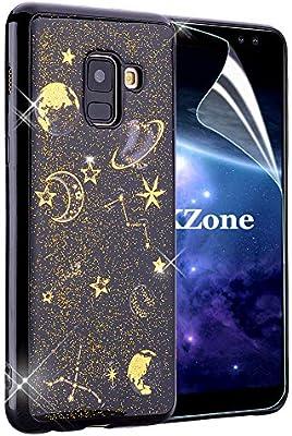 OKZone Funda Galaxy A8 2018, [Serie Noche Estrellada] Cárcasa ...