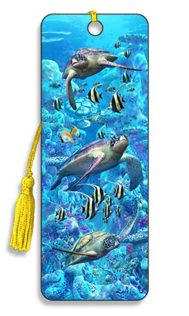 Artgame - Turtle Town - 3D Bookmark -