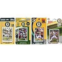 MLB Oakland Athletics 4 Different Licensed Trading Card Team Sets