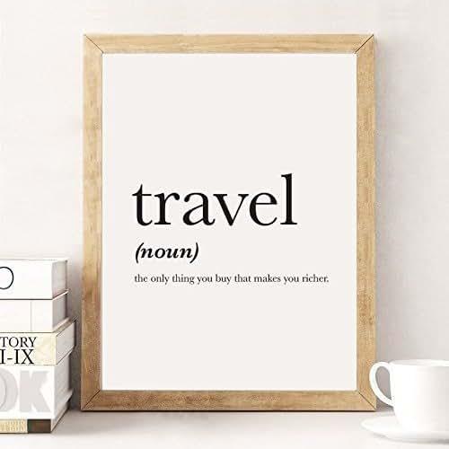 Amazon.com: Travel Definition, Definition Print, Travel