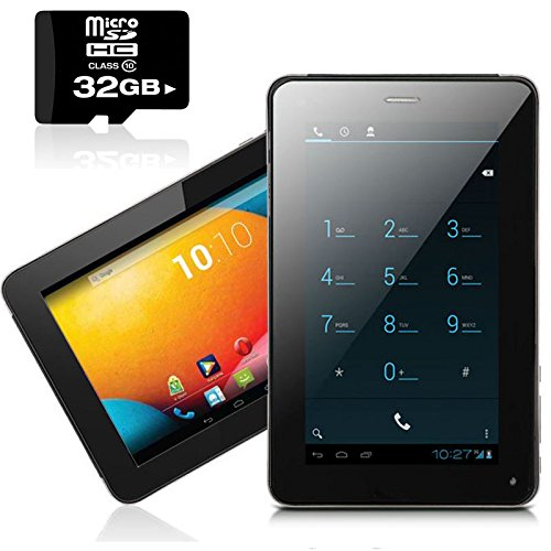 inDigi® Phablet 7in Android 4.2 Tablet Phone Google Play Store - FREE 32GB Memory Card!
