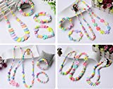 Jewelry Beads Set Accessories Toys, Magnolian Handmade DIY Crafts Arts Jewelry Making Kits for Childrens DIY Bracelets Necklace, Early Childhood Intelligence Education Toys-620 Pcs