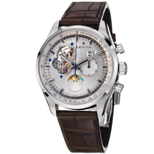 Zenith Chronomaster Open Grande Date Moonphase Mens Automatic Watch 03.2160.4047/01.C713