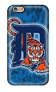 Iphone 6 YpFUXjl105txdla Detroit Tigers Tpu Silicone Gel Case Cover. Fits Iphone 6