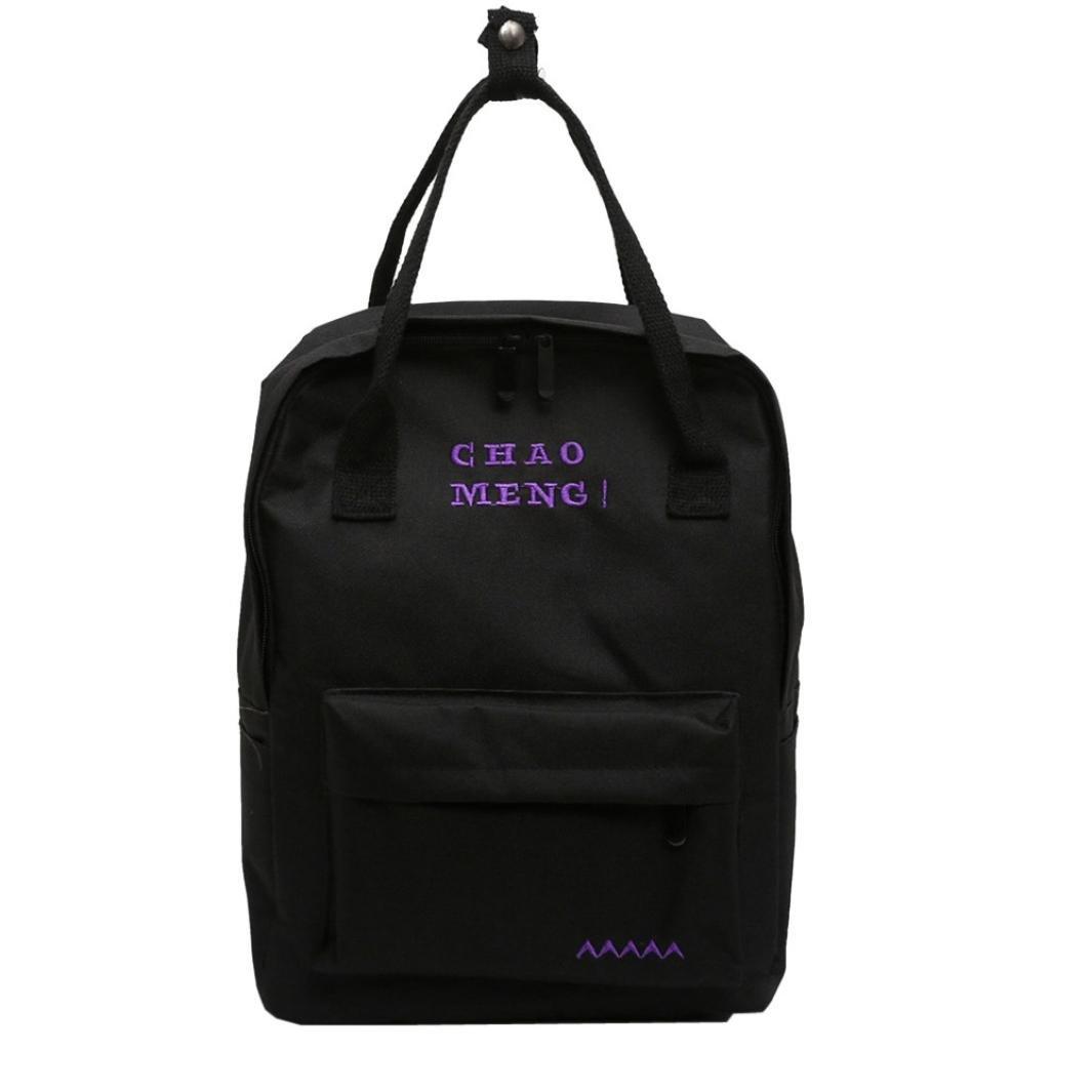 67ae0cc5709d Amazon.com  Inkach - Fashion Backpack Mini Backpacks Purse - Fashion Womens  Oxford Student School Rucksack Travel Shoulder Tote Bags (Black)  Sports    ...