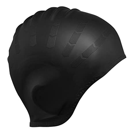 Calistouk Cuffia da nuoto protezione sagomata per le orecchie 837aaa8ffd91