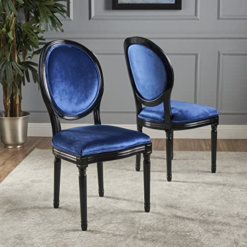 Christopher Knight Home Camille Traditional Velvet Dining Chair