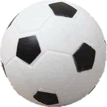 SODIAL Futbolin pequeno de futbol Bola de plastico duro de mesa Juguete de ninos Blanco negro: Amazon.es: Juguetes y juegos