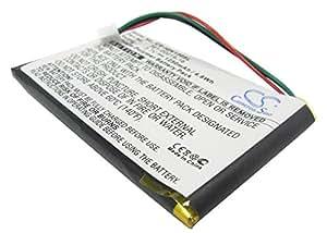 VINTRONS Battery for Garmin Nuvi 1340T Pro, 3.7V, 1250mAh, Li-PL