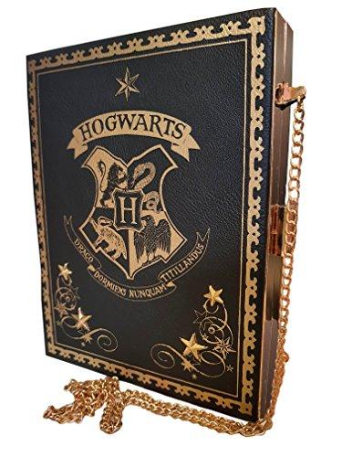 Titillandus Black Potter Nunquam Draco side Black with Dormiens chain handbag Clutch Hogwarts Harry Purse wWHnfYxqf