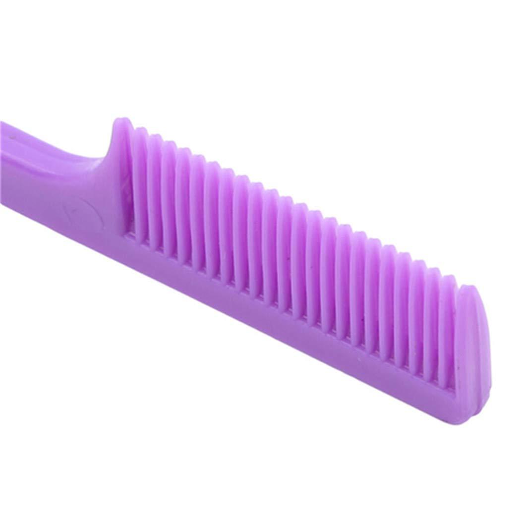 LZIYAN Edge Control Hair Brush Comb Eyebrow brush Polish Hair Tools Creative Gift For Women,Purple by LZIYAN (Image #4)