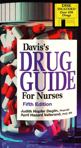 Davis's Drug Guide for Nurses: With Disk with 3.5 Disk