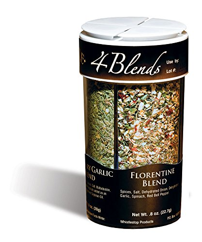 Florentine Bread - Original WhistleStop Cafe Recipes | 4-Blends Seasoning | 3.55-oz | 1 4-in-1 Shaker