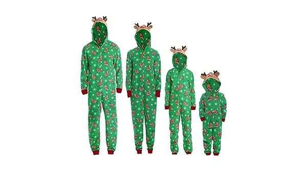 Toamen - Conjunto de pijama completo de Navidad para mujer y ...