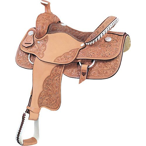 Billy Cook Tyler Roper Saddle 15In Roughout