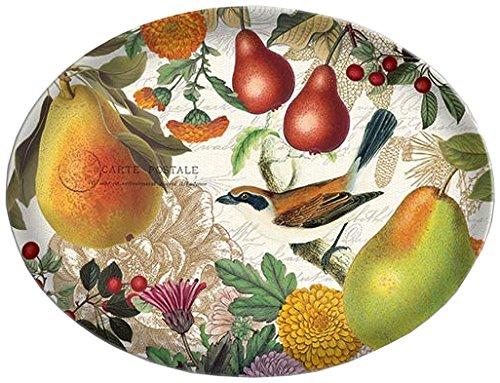 Michel Design Works Glass Soap Dish, Golden Pear Art Glass Soap Dish