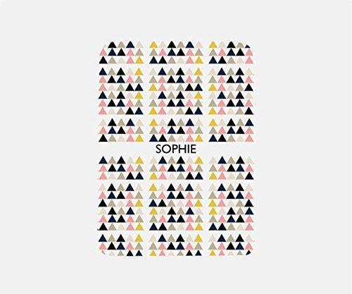 Monogram Blanket, Geometric Blanket Fleece, Travel Blanket Airplane, Beach Blanket, Pool Blanket,