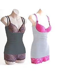 Breastfeeding Bundle - Naked Nursing Tank- Classic Cotton; Charcoal and Light Grey