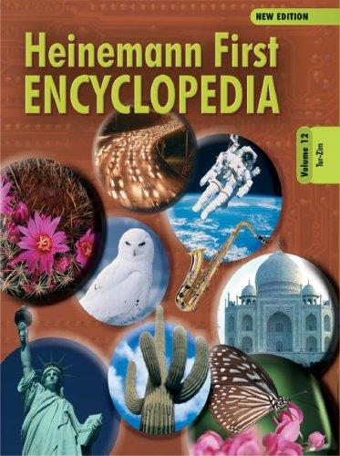 Download Heinemann First Encyclopedia Volume 12: Tur-Zim (Heinemann First Encyclopedia New Edition) pdf epub