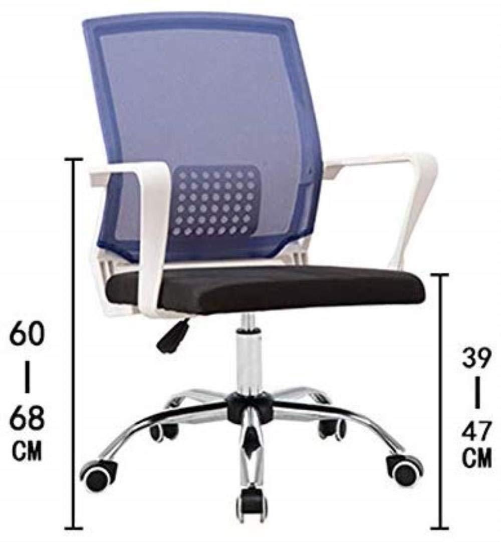 RXL bekväm kontorsstol student stol nätstol sovsal konferensstol hem datorstol robust (färg: Grön) Grått