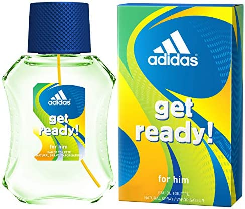 Adidas Get Ready Eau De Toilette para Hombre - 50 ml: Amazon.es: Belleza