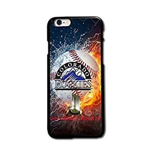 Tomhousomick? Custom Design Forever MLB Colorado Rockies Team Case Cover for iPhone 6 plus 5.5 inch