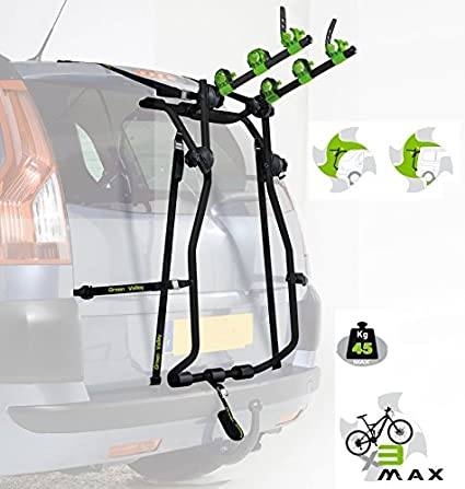 Amazon.es: Flauraud 160626 Green Valley-Porta-Bicicleta Trasero ...